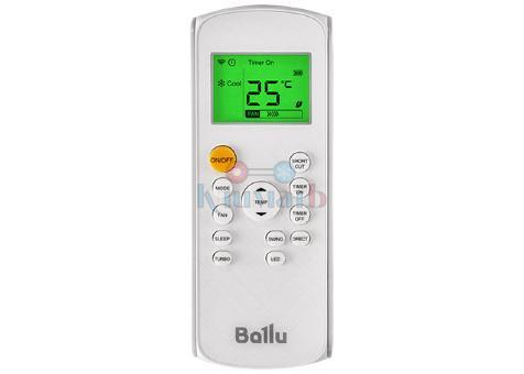 Ballu BSVP-09HN1 пульт дистанционного управления