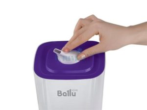 Верхняя часть Ballu UHB-205 белый-фиолетовый