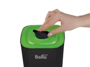 Верхняя часть Ballu UHB-205 черный-зеленый